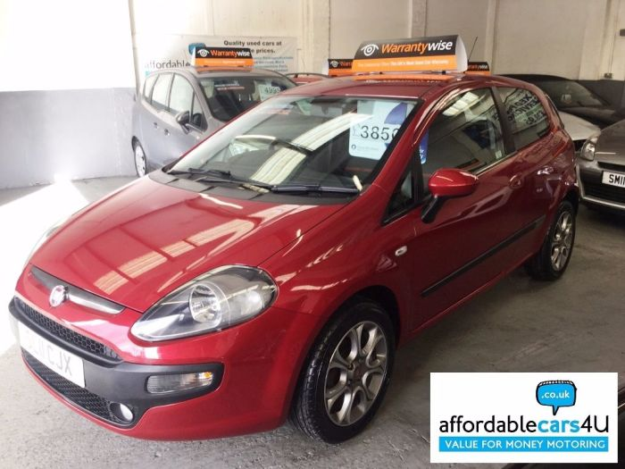 Fiat Punto Evo 1.4 GP 3 Dr Hatchback**Bluetooth**Alloys** Hatchback Petrol Red